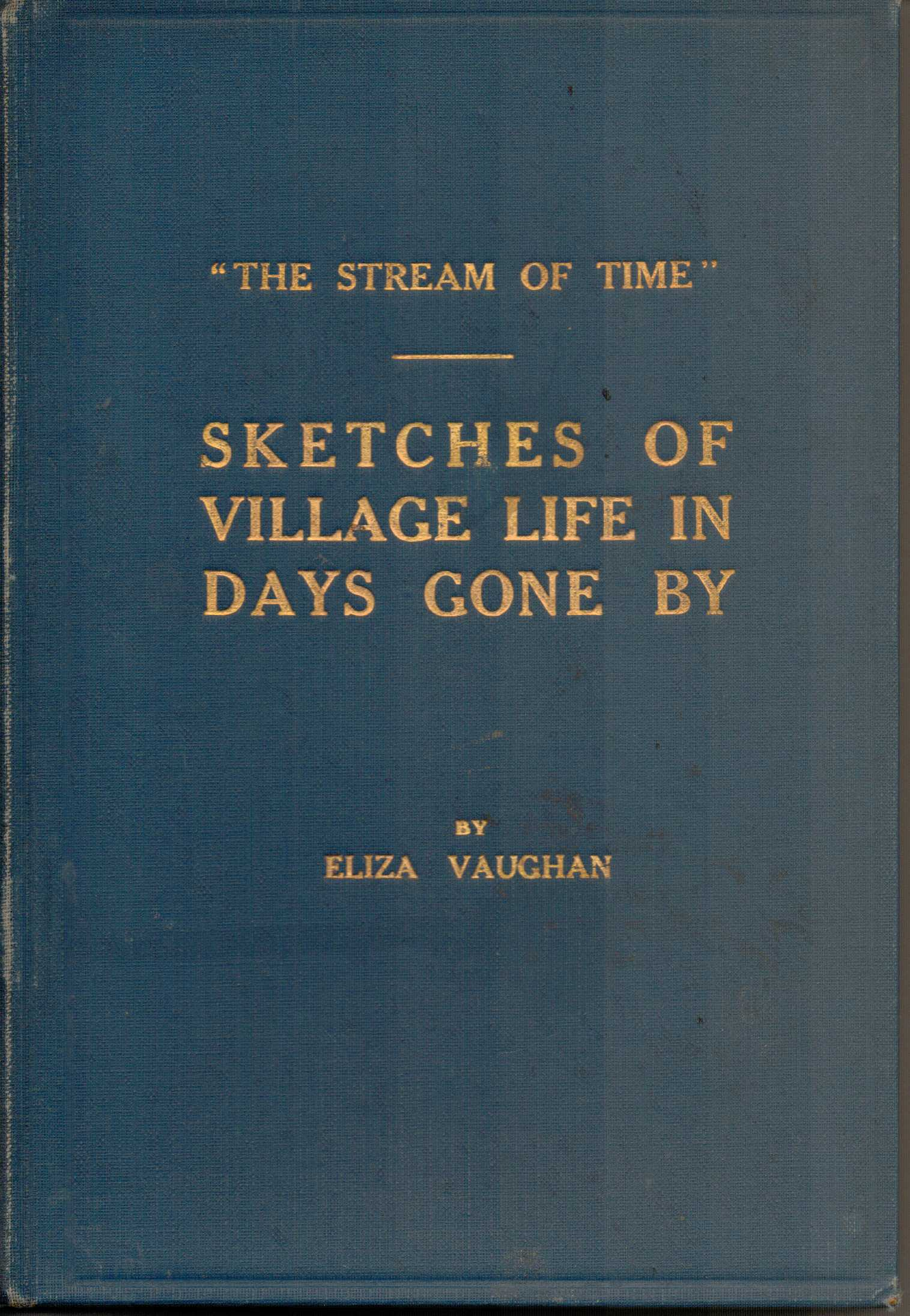 Image for Sketches of Village Life in Days Gone by