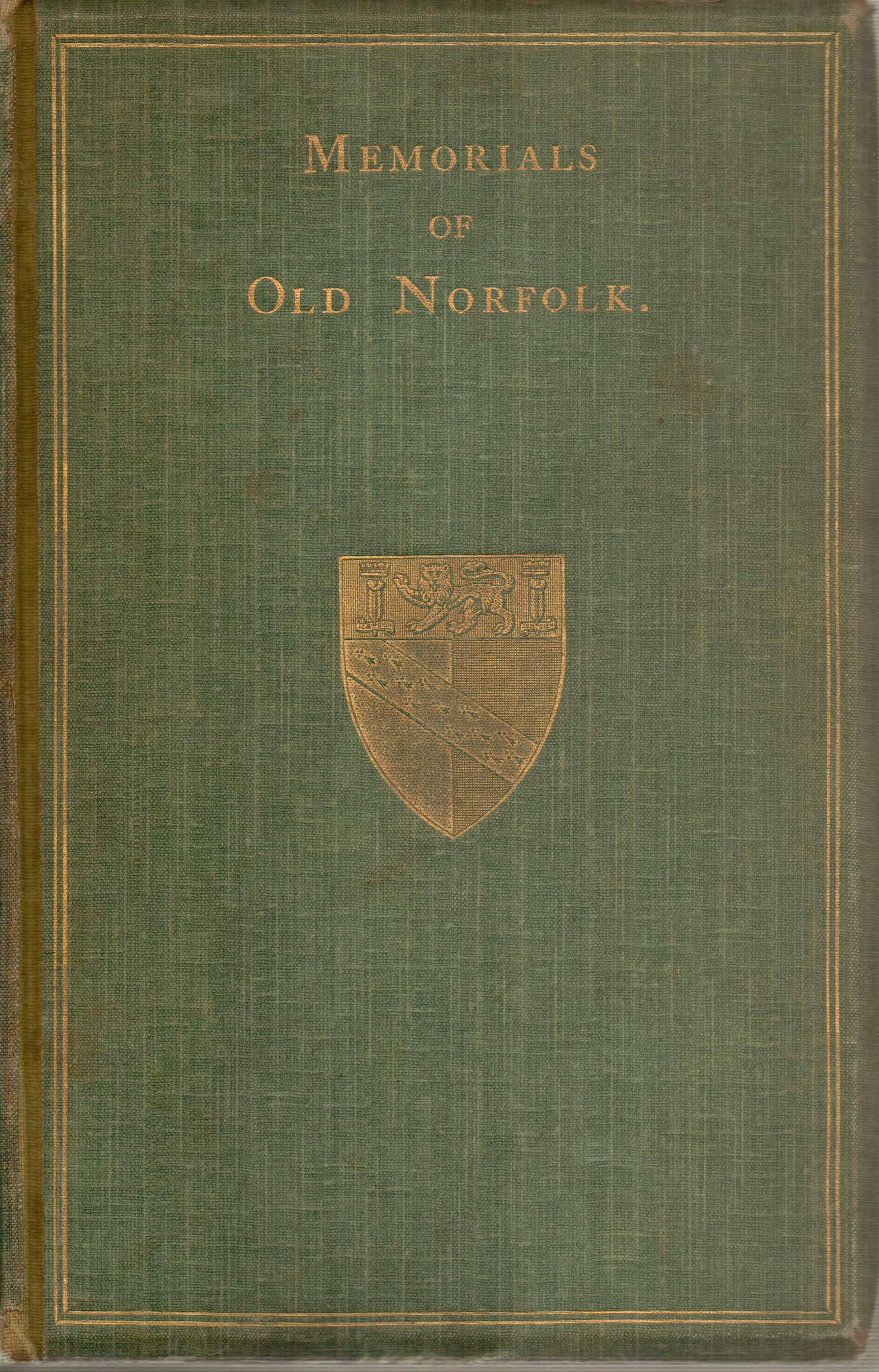 Image for Memorials of Old Norfolk