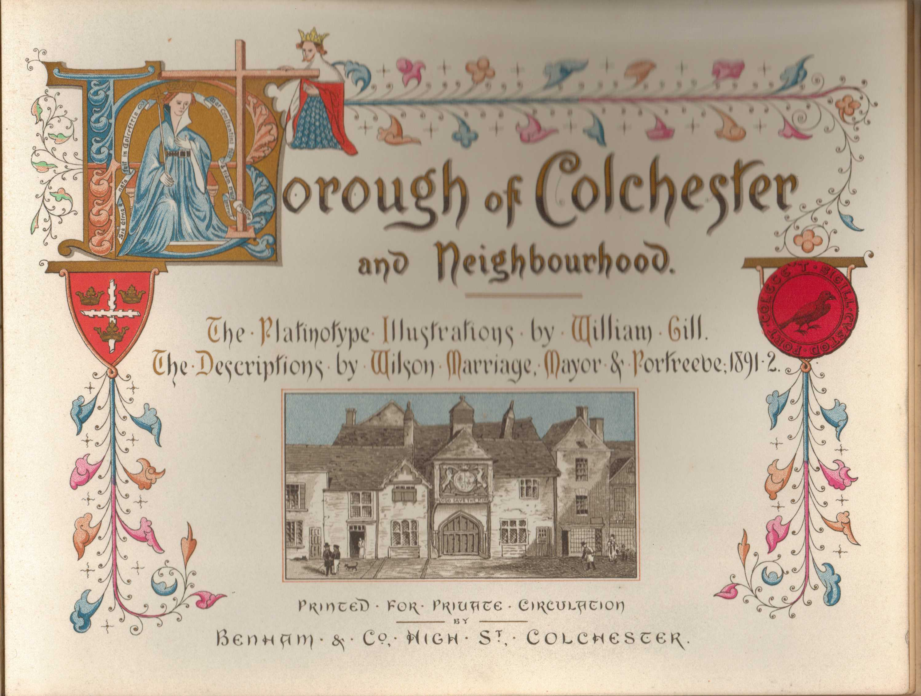Image for Borough of Colchester and Neighbourhood : The Platinotype Illustrations