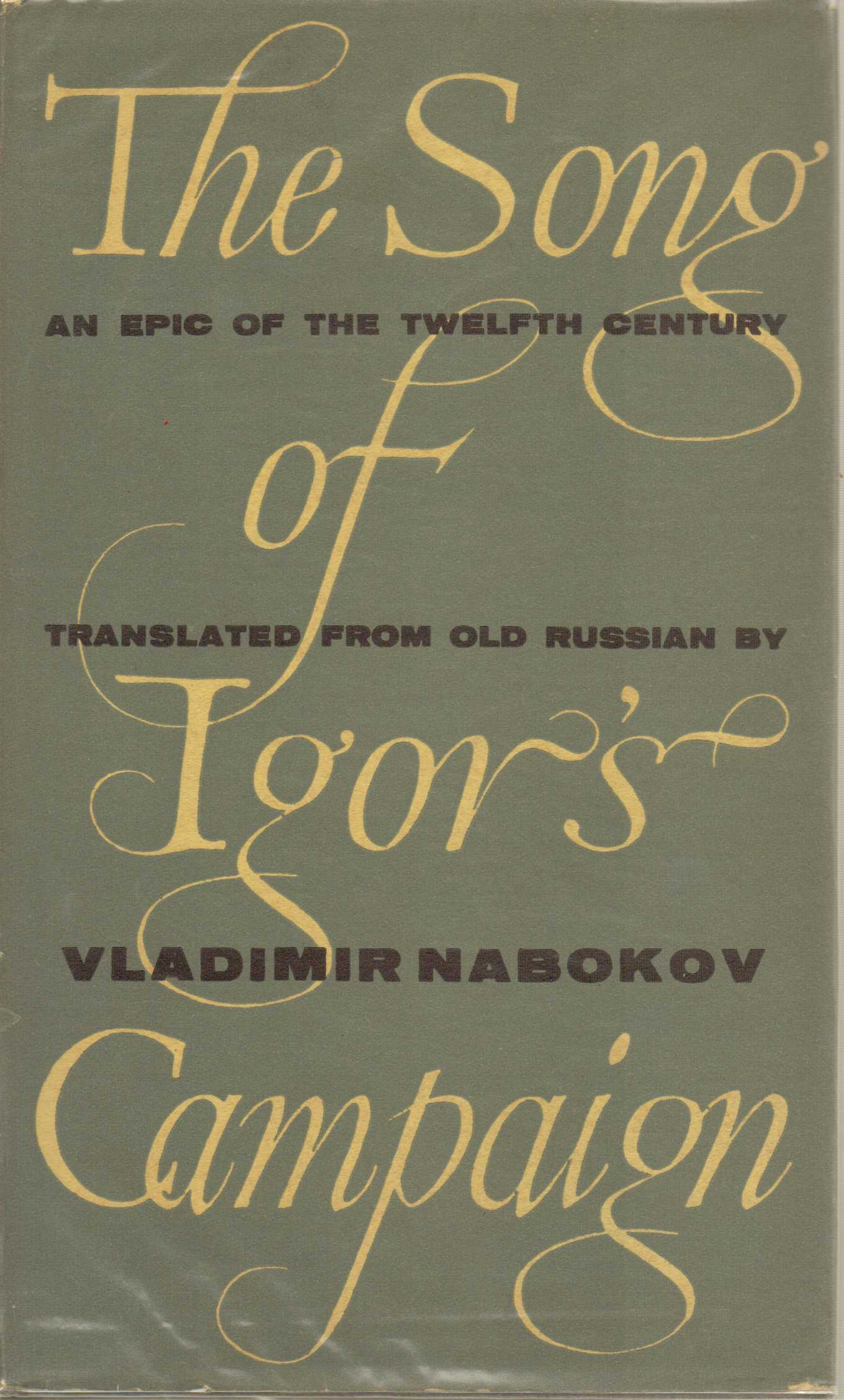 Image for The Song of Igor's Campaign : An Epic of the Twelth Century