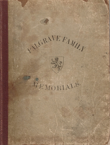 Image for Palgrave Family Memorials