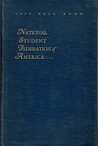 Image for The National Student Federation of the United States of America Year Book for 1930