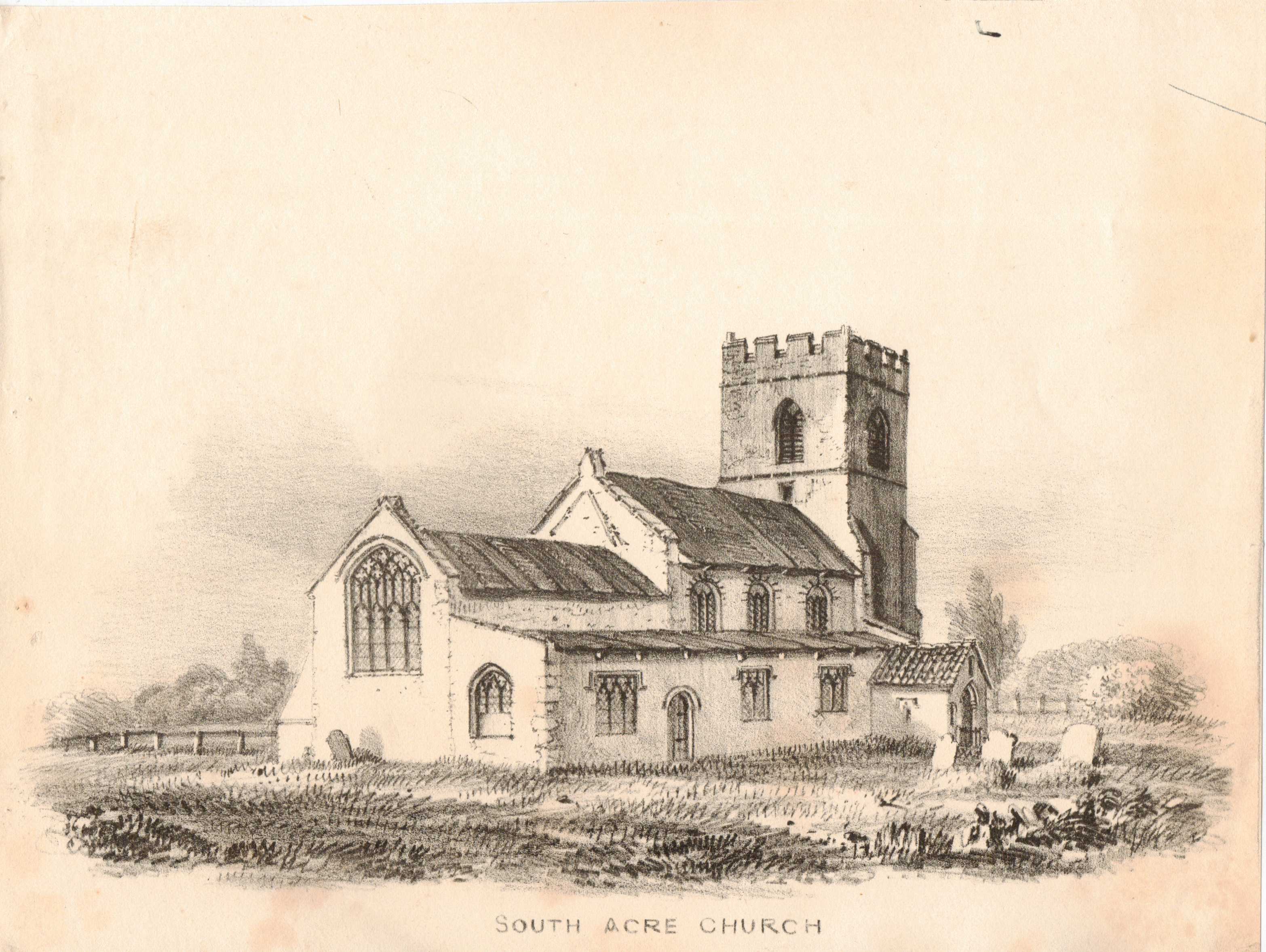 Image for Norfolk Church Print