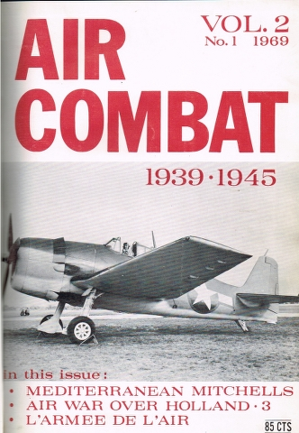 Image for Air Combat Vol. 2 No. 1 1969 to Vol. 2 No. 6 1969