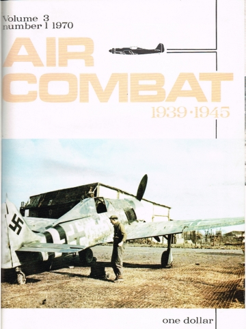 Image for Air Combat Vol. 3 No. 1 1970 to Vol. 3 No. 6 1970
