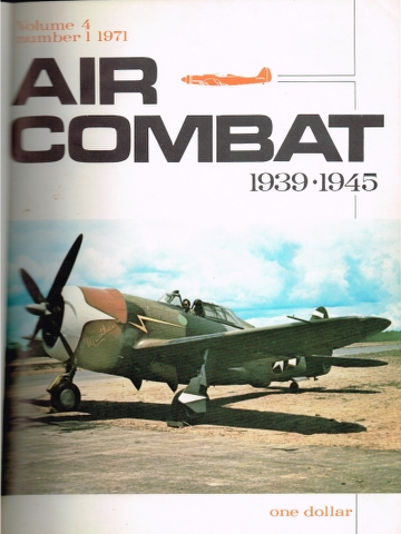 Image for Air Combat Vol. 4 No. 1 1971 to Vol. 4 No. 6 1971