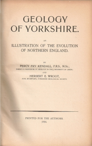 Image for Geology of Yorkshire. in Two Volumes An Illustration of the Evolution of Northern England