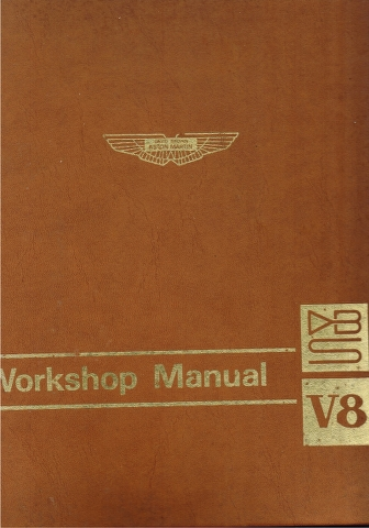 Image for Aston Martin DBS V8 Workshop Manual