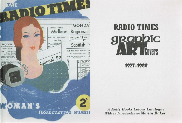 Image for Radio Times Graphic Art Covers 1927-1988