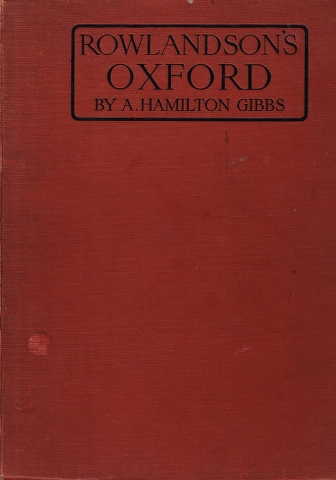 Image for Rowlandson's Oxford