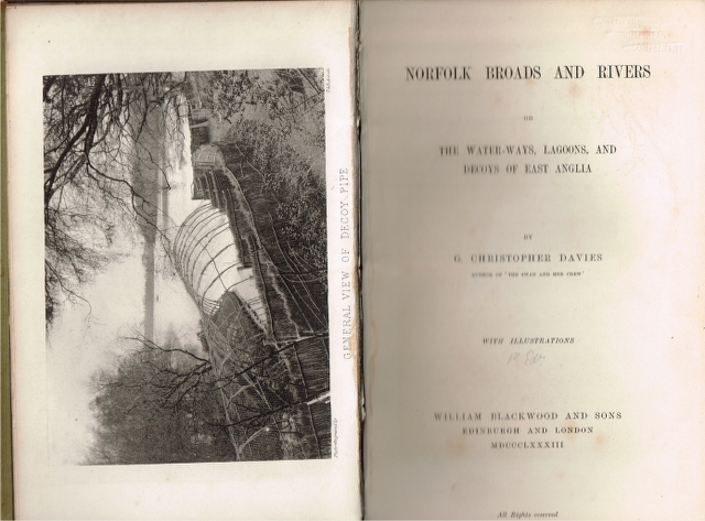 Image for Norfolk Broads and Rivers or The Water-ways, Lagoons, and Decoys of East Anglia