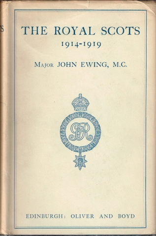 Image for The Royal Scots 1914-1919 Volume I and Volume II.  [Two Volumes]