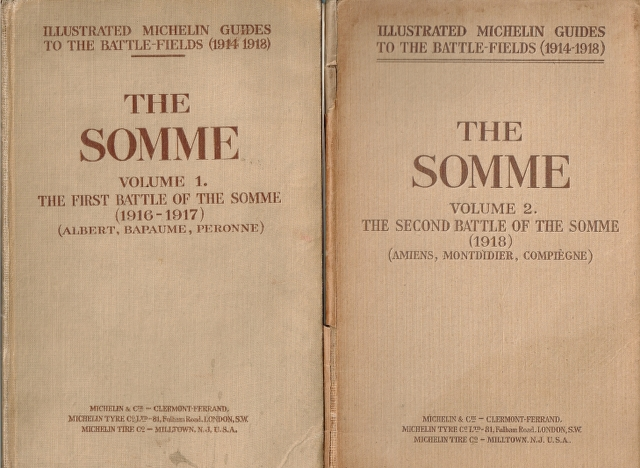 Image for The Somme Volume 1. The First Battle of the Somme (1916-1917) (Albert, Bapaume, Peronne) [And] The Somme Volume 2. The Second Battle of the Somme (1918) (Amiens, Montdidier, Compiegne) [2 volumes]