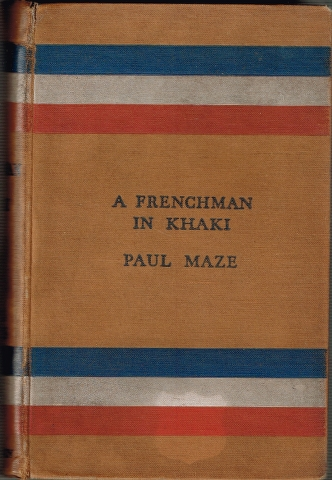 Image for A Frenchman in Khaki
