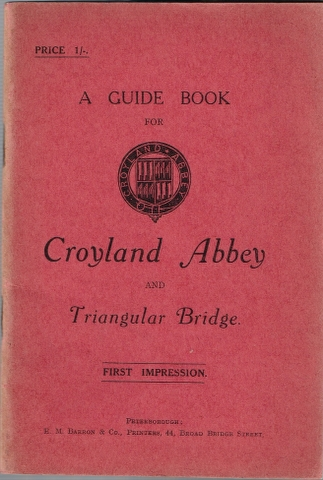 Image for A Guide Book for Croyland Abbey and Triangular Bridge