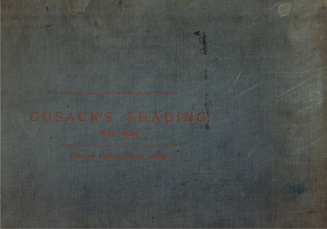 Image for Cusack's Shading: A Text Book fdor School Teachers, Students in Training Colleges, Pupil Teachers, Standard VII. and Ex-Standard VII. Scholars, and Elementary Art Students.