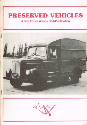 Image for Preserved Vehicles formerly operated by the General Post Office, the Post Office Corporation or British Telecom