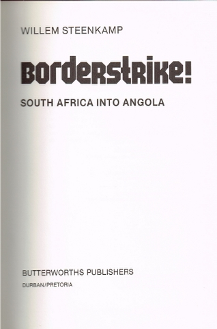Image for Bordersrike! South Africa into Angola