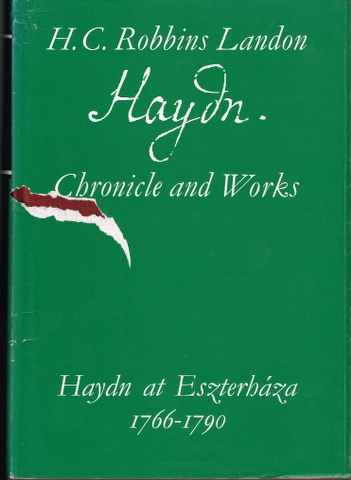 Image for Haydn at Eszterhaza 1766-1790