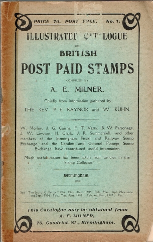 Image for Illustrated Catalogue of British Post Paid Stamps
