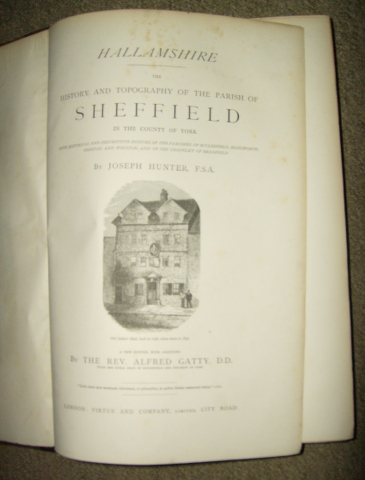 Image for Hallamshire: The History and Topography of the Parish of Sheffield in the County of York with historical and descrptive notices of the Parishes of Ecclesfield, Hansworth, Treeton, and Whiston, and of the Chapelry of Bradfield