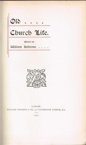 Image for Old Church Life