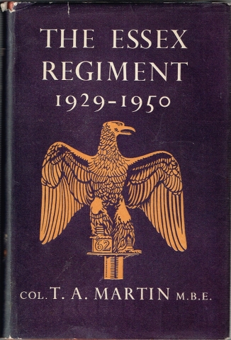 Image for The Essex Regiment 1929-1950