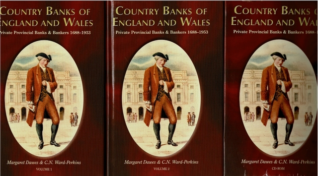 Image for Country Banks of England and Wales: Private Provincial Banks & Bankers 1688-1953 Volume 1, Volume 2, CD-Rom