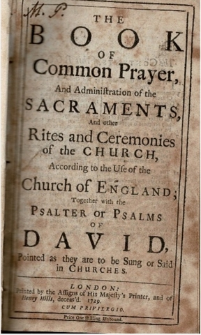 Image for The Book of Common Prayer [...] [bound with] A Companion to the Altar [...] [and] The Whole Book of Psalms [...]