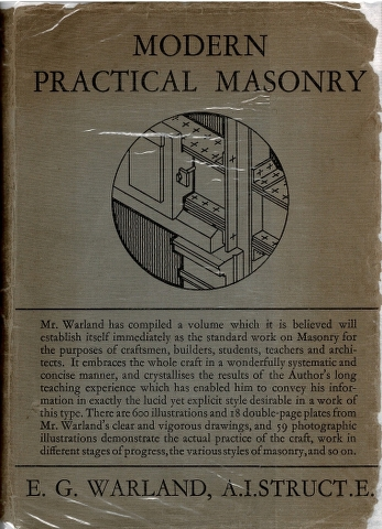 Image for Modern Practical Masonry: A Comprehensive Treatise on the Practice of the Various Branaches of the Craft General, Monumental, Marble and Granite [...]