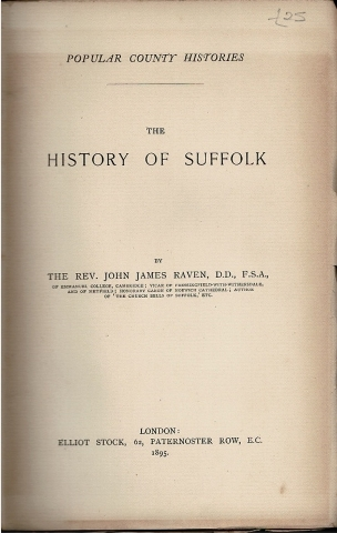 Image for The History of Suffolk