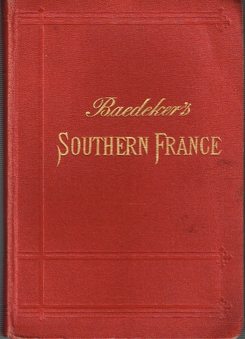 Image for Southern France including Corsica Handbook for Travellers