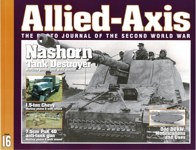 Image for Allied-Axis: The Photo Journal of the Second World War Issue 16