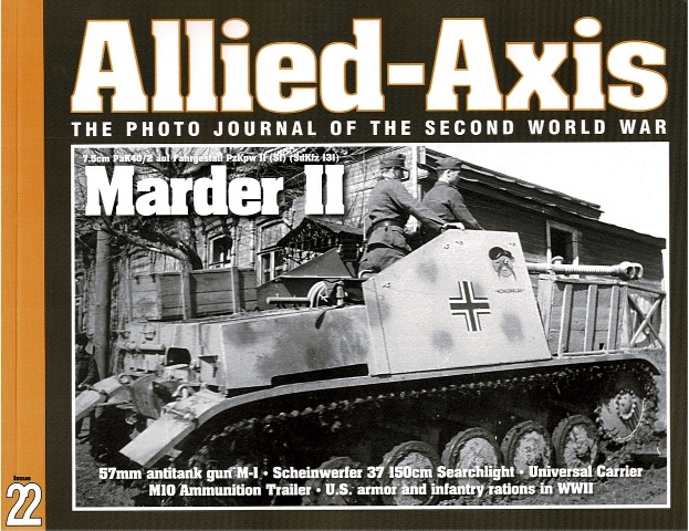 Image for Allied-Axis: The Photo Journal of the Second World War Issue 22