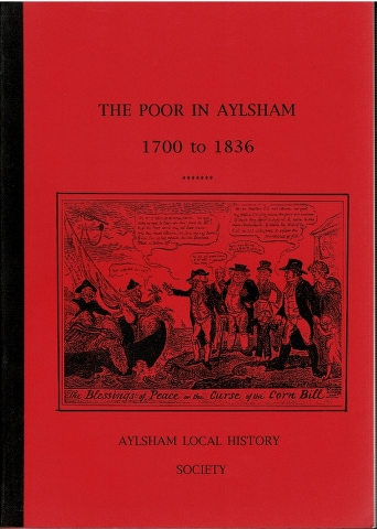Image for The Poor in Aylsham 1700 to 1836