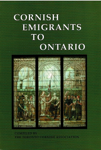 Image for Cornish Emigrants To Ontario