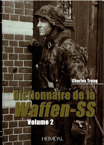 Image for Dictionnaire de la Waffen-SS Volume 2