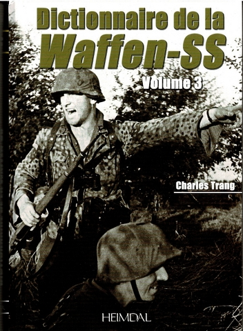 Image for Dictionnaire de la Waffen-SS Volume 3
