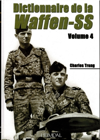 Image for Dictionnaire de la Waffen-SS Volume 4