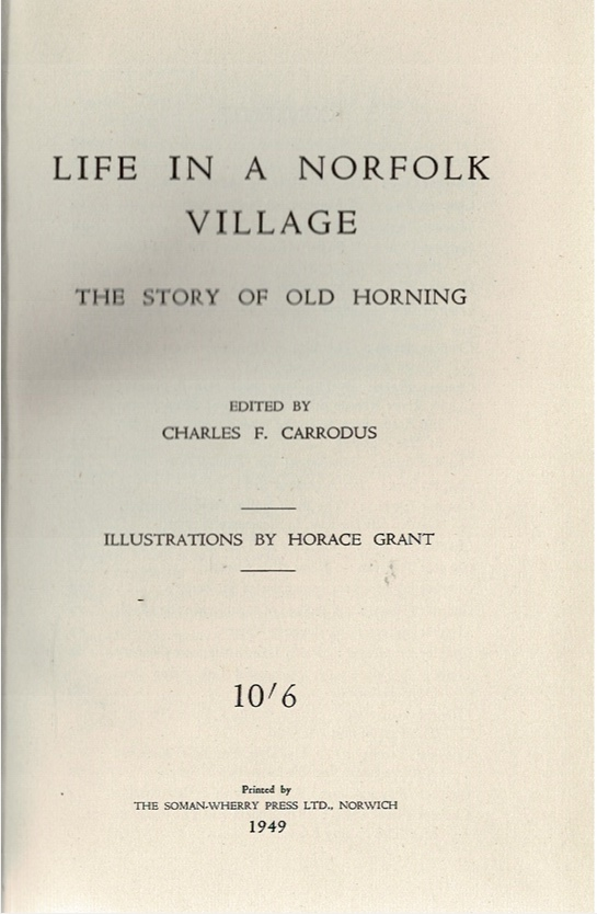 Image for Life in a Norfolk Village: The Story of Old Horning