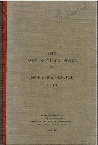 Image for The East Anglian Flora