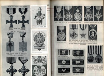 Image for Scrapbook of Heraldry and Medal Images