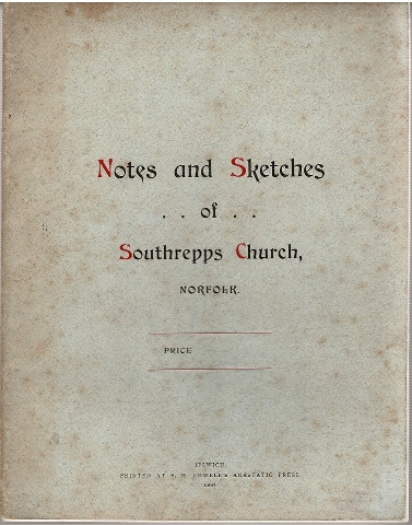 Image for Notes and Sketches of Southrepps Church, Norfolk.