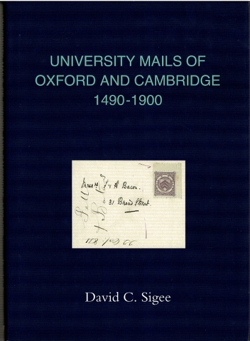 Image for University Mails of Oxford and Cambridge 1490-1900