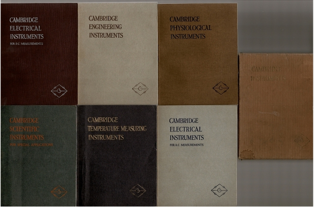 Image for Cambridge Instruments [Six Catalogues in Slipcase]: Engineering, Electrical for D.C. Measurements, Phsyiological, Scientific for Special Applications, Temperature Measuring, Electrical for A.C. Measurements