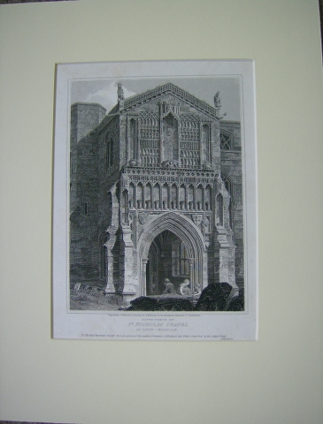 Image for South Porch of St. Nicholas Chapel at Lynn : - Norfolk.