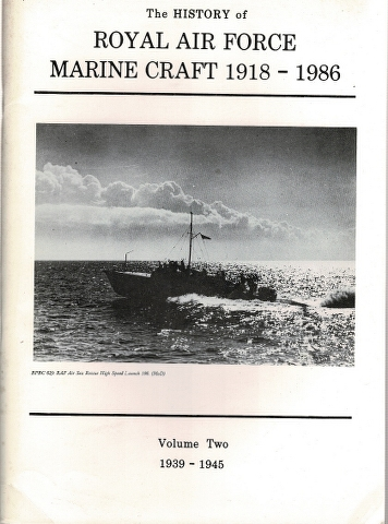 Image for The History of Royal Air Force Marine Craft 1918-1986 Volume Two 1939-1945