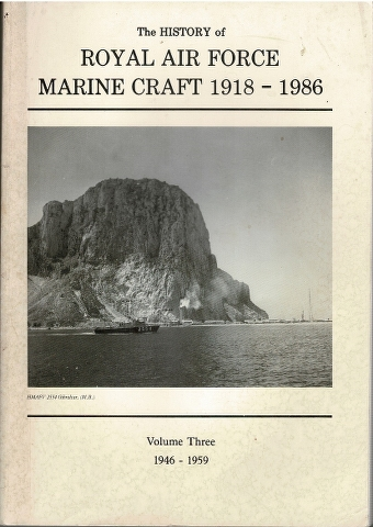 Image for The History of Royal Air Force Marine Craft 1918-1986 Volume Three 1946-1959