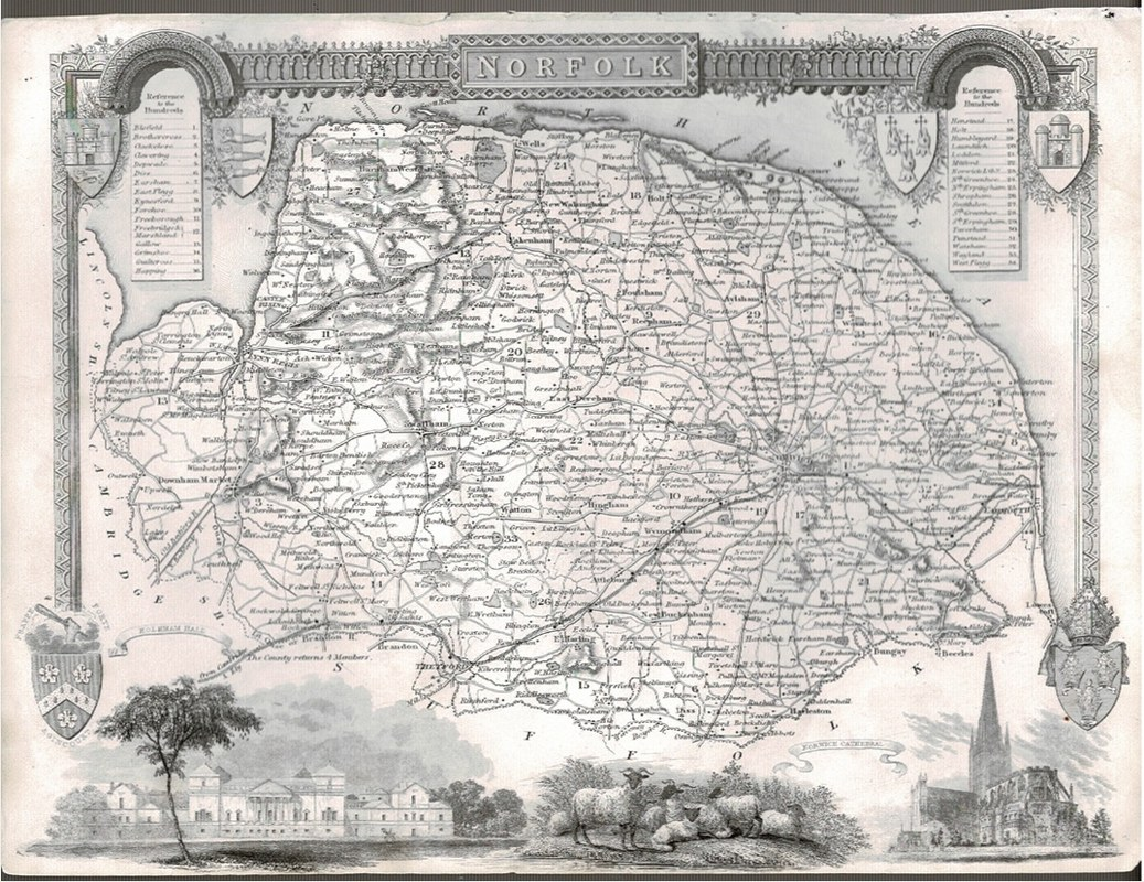 Image for Norfolk Map