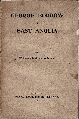 Image for George Borrow in East Anglia
